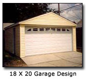 Photo of 18 x 20 Garage Design