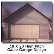 Image of 18 x 20 High Pitch Gable