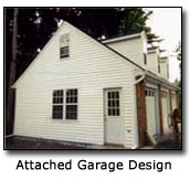 Image of Attached Garage Design