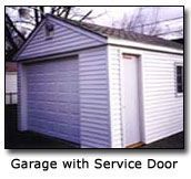 Image of Garage Service Door
